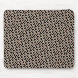 Dingy Grunge Pattern Mouse Pad