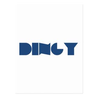 Dingy (Navy) Postcard