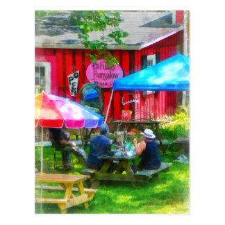 Dining Al Fresco Postcard