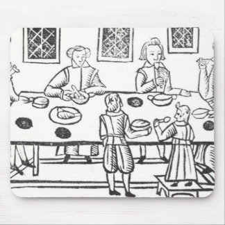 Dining at Home, from the Roxburghe ballads Mouse Pad