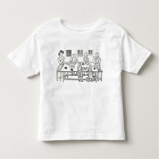 Dining at Home, from the Roxburghe ballads Toddler T-shirt