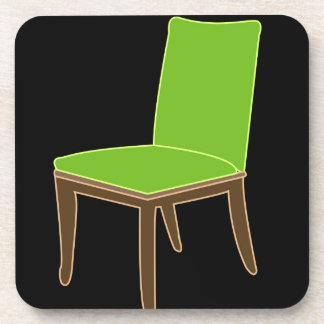 dining chair beverage coaster