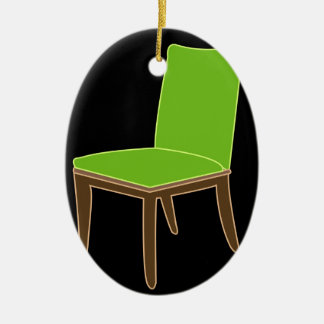 dining chair ceramic ornament