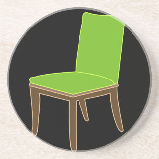 dining chair drink coaster