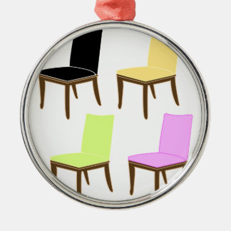 dining chair metal ornament