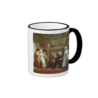 'Dining in the Hayfields' (surprised by Mr Thornhi Mugs