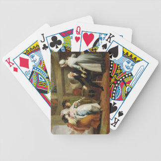 'Dining in the Hayfields' (surprised by Mr Thornhi Poker Deck