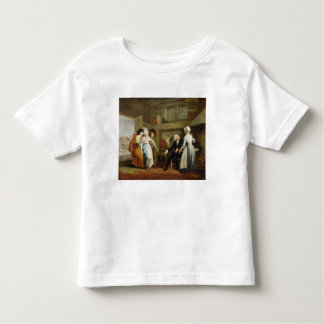 'Dining in the Hayfields' (surprised by Mr Thornhi Toddler T-shirt