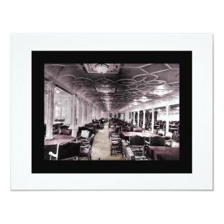 Dining Room Aisle Titanic Card