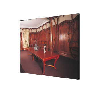 Dining Room belonging to Adrien Benard Canvas Print