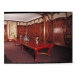 Dining Room belonging to Adrien Benard Postcard