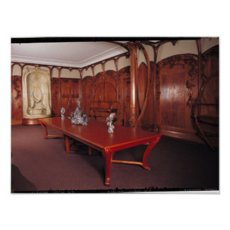Dining Room belonging to Adrien Benard Poster