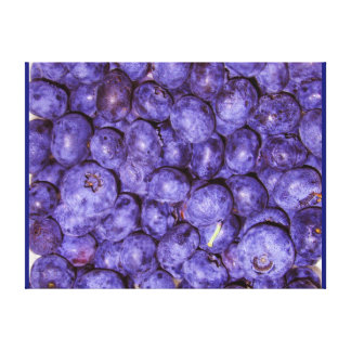 DINING ROOM BLUEBERRY ART CANVAS HOLIDAY GIFT