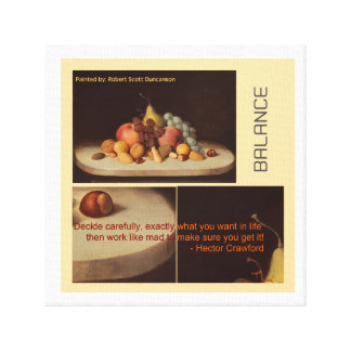 Dining Room Canvas Prints - Balance Diet