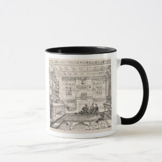 Dining Room, from 'Examples of Ancient and Modern Mug