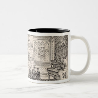 Dining Room, from 'Examples of Ancient and Modern Two-Tone Coffee Mug