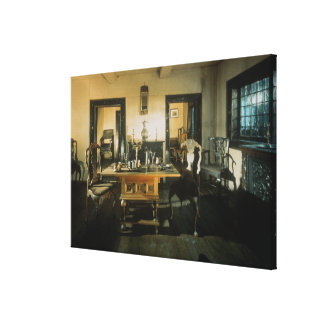 Dining Room in the Summer Palace Canvas Print