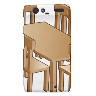 Dining Room Table Icon Droid RAZR Case