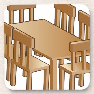 Dining Room Table Icon Coaster