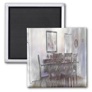 dining table 2 inch square magnet