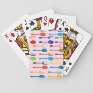 Dining Texture Deck Of Cards