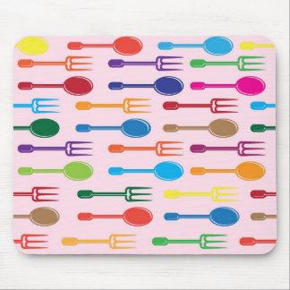 Dining Texture Mousepad