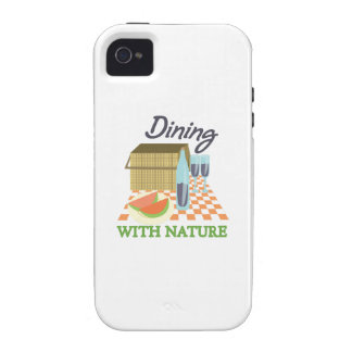 Dining With Nature iPhone 4/4S Covers