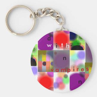dininwithvampires basic round button keychain