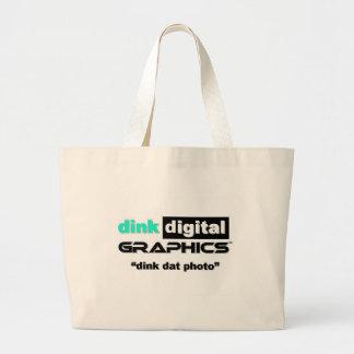 Dink Digital Graphics Canvas Bags