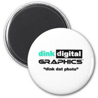 Dink Digital Graphics Refrigerator Magnets