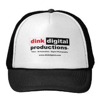 Dink Digital Productions Red Line Gear Mesh Hats