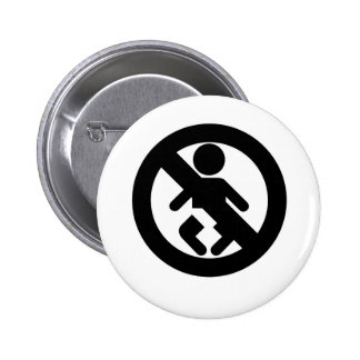 DINK Spawn Free No Baby Pinback Buttons