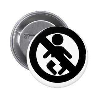 DINK Spawn Free No Baby Pinback Button