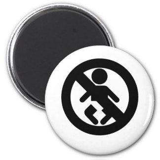 DINK Spawn Free No Baby Refrigerator Magnets