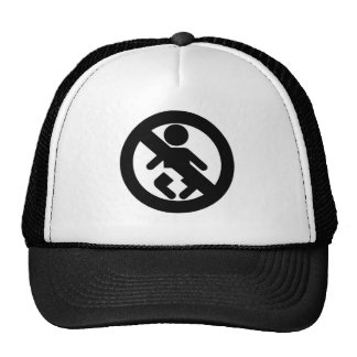 DINK Spawn Free No Baby Trucker Hat