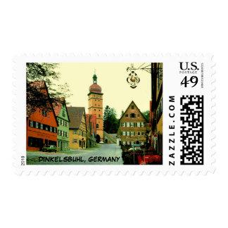 DINKELSBUHL, GERMANY POSTAGE STAMP