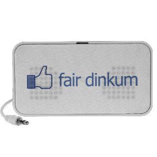 Dinkum justo PC altavoces