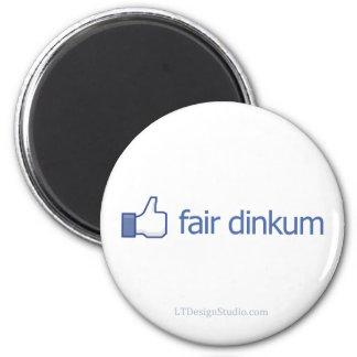 Dinkum justo - imán