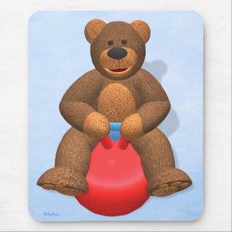Dinky Bear on Hop Ball