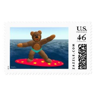 Surfing Dinky Bear