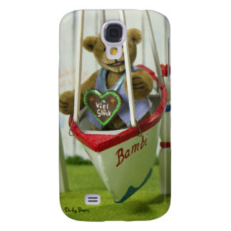 Dinky Bear on Swingboat Samsung Galaxy S4 Cases