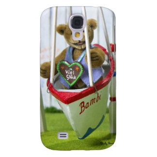 Dinky Bear on Swingboat Samsung Galaxy S4 Cover