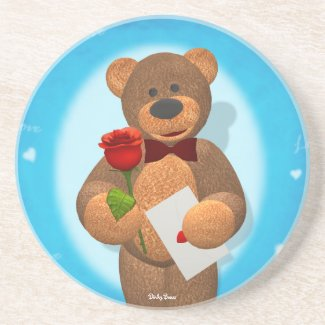 Dinky Bear with Rose