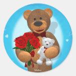 Dinky Bear with Teddy Sticker