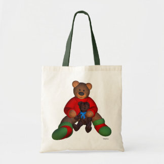 Dinky Bear with Teddy Tote Bag