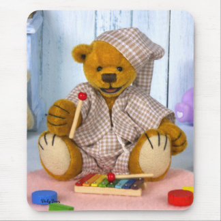 Dinky Bear with Xylophone Mouse Pad