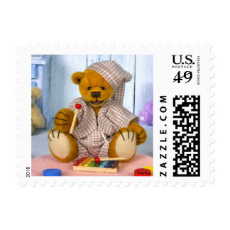 Dinky Bear with Xylophone Postage