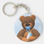 Dinky Bears Baby Boy Key Chain