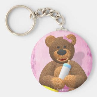 Dinky Bears Babygirl Keychain