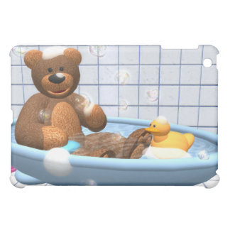 Dinky Bears Bathing Fun Cover For The iPad Mini